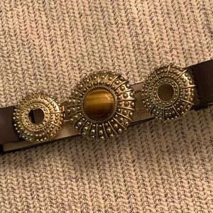 NWOT...CHICO's tigers eye stone belt